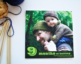 Modern Baby Patterns, Knitting Pattern Book, Knitting Pattern Collection, CLEARANCE, Tin Can Knits