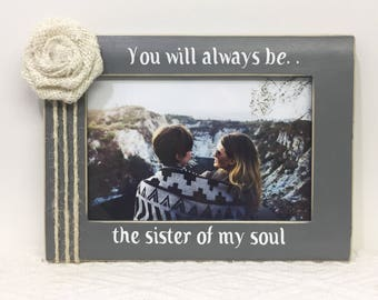 Personalized soul sisters frame- best friend frame- friends frame- personalized friend gift, personalized frame, personalized gift,