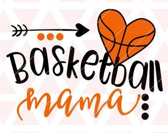 Basketball mama svg, eps, dxf, png, cricut, cameo, scan N cut, cut file, basketball mom svg, basketball player svg, basketball svg