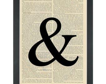 Wedding  & Symbol Dictionary Art Print