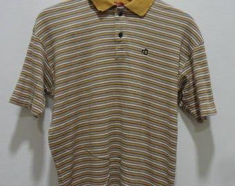 Rare!! Mr.Junko Designs Striped polo shirt size M