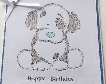 Blue nose friends - Birthday card