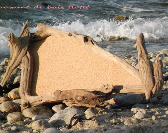 (Memo) driftwood and Cork Board