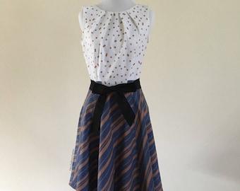 Ravenclaw Stripe Dress