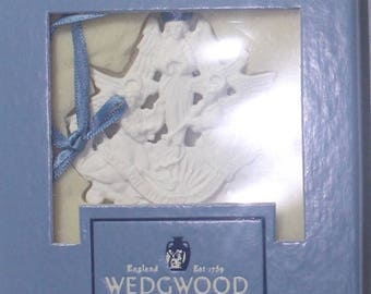 Wedgwood 1993 Hark the Herald Angels Sing Ornament, Boxed, Excellent condition