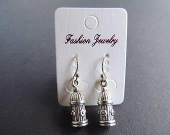 Cage bird Silver earrings