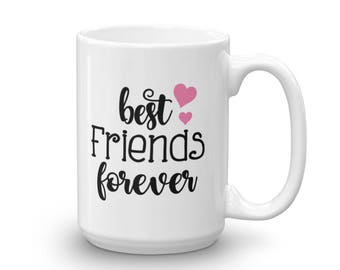 Best Friends Forever Mug - BFF Coffee Cup