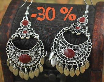 SUMMER SALE / / / New York mood earrings / / / Boho Gypsy Oriental