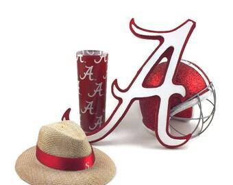 Roll Tide Alabama Decor. Alabama Crimson Tide, Alabama Decor, Roll Tide Roll, Alabama Football,