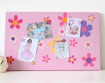 Flower Power Magnetic Noticeboard