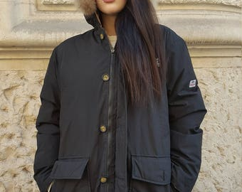 Vintage puffer Jacket by LONSDALE London cod 2-32