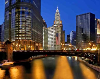 Chicago River 4th of July