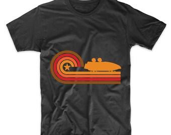 Retro Style Bobsled Vintage Bobsledding T-Shirt