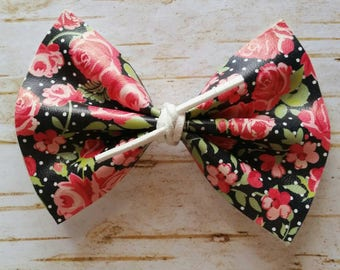 Knotted Rose Bow