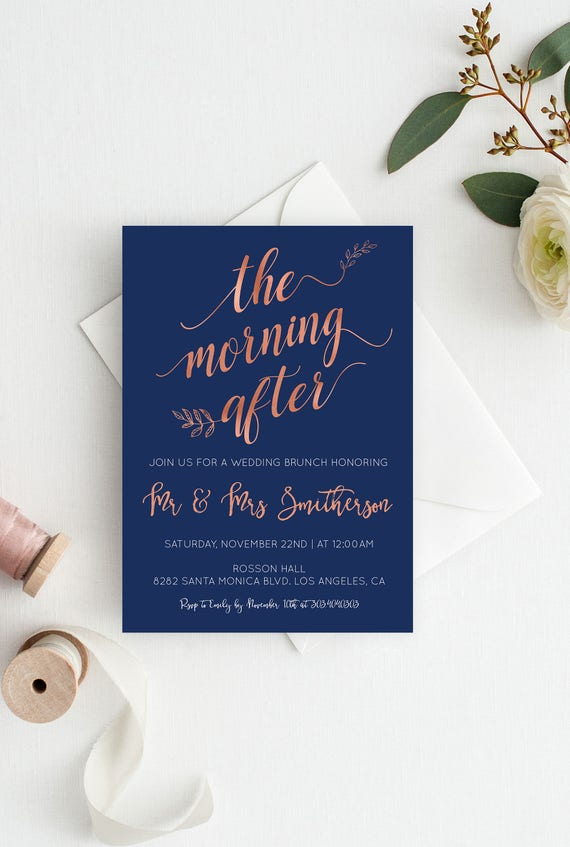Wedding Brunch Invitations