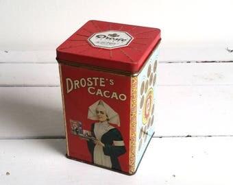 Vintage Dutch 'Droste cacao' tin
