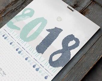 """A3 Annual planner 2018-""""Quadro"""""""