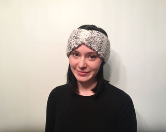 Twisted Headband // Women's Headband // Crochet Headband // Twisted Ear Warmer