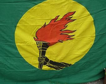 Za za zoom! Zaire Flag. Stunning Flag From Africa