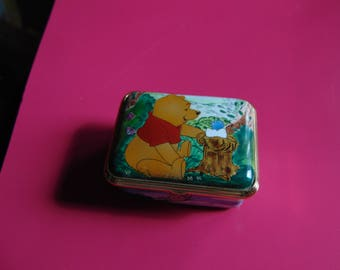 Winnie the Pooh enamel trinket box by Pooh and Friends