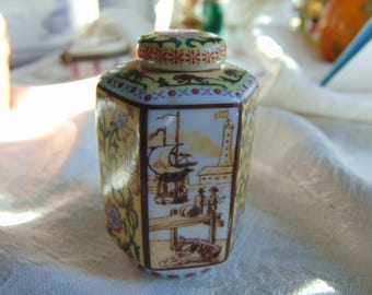 Beautiful Hand finished and Numbered delPrado Porcelain trinket box individual work of art