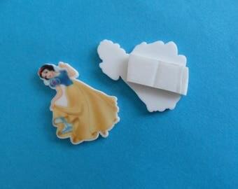 self-adhesive Princess cabochon and canson 11 hearts.