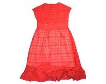 Orange Children's Dress