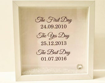 Wedding Box Frame