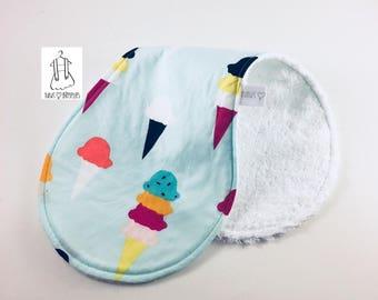 Shoulder towel - delicious cones