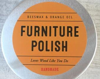 Beeswax and Orange Furniture Polish