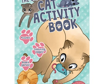 The Ultimate Cat Activity Book, by Fez Baker