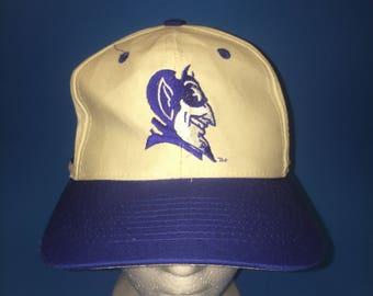 Vintage duke university fitted hat size 7 1/4 1990s