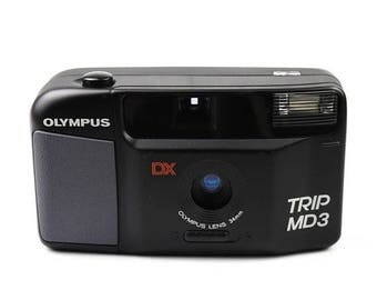 Limited time offer Olympus Trip MD3 Compact Camera c. 1988