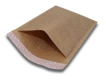 "50 PCS 7.5X8"" kraft bubble mailer, shipping supplies, bubble mailers, mailers, kraft, kraft envelope, shipping, supplies, kraft mailers"