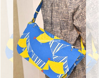 Paper Pattern | Echino Cross Body Bags Pattern
