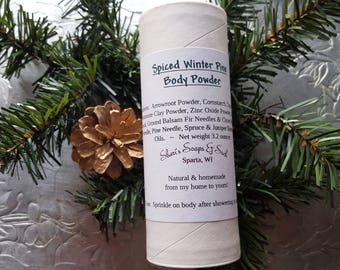 Spiced Winter Pine Body Powder