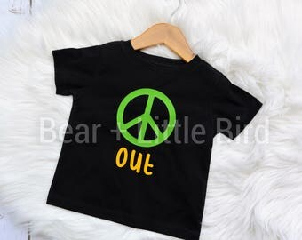 Kids Peace Out Graphic T Shirt Infant or Toddler