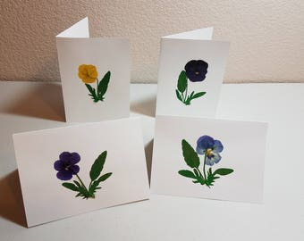 Assorted Viola Note Cards- Set of 4