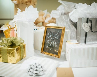 Card & Gifts Sign