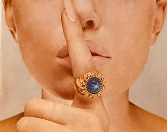 1967 The shhhhhh star-Linde Stars - when you wear a Linde Star people will whisper-To you-About you