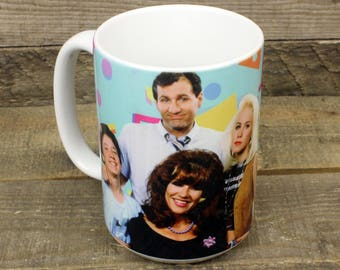 Married with Children MUG al bundy peggy kelly bud 80s retro TV gifts for dad him daddy issues 90s old school pattern coffee