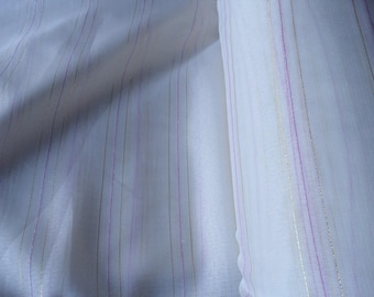 Sheer print linen very pretty