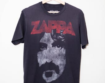 Vintage 1970's Style Frank Zappa Shirt | Size Medium