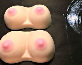 Boob Soap-Boobies Soap-Breast Soap-Boobs Soap-Tit Soap-Men's Gift-Gag Gift-Bachelor Party Favor-Adult Soap.