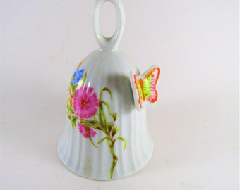 UCGC Ceramic Bell Flowers Butterfly