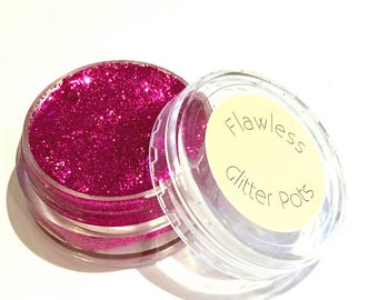 Eye Glitter Paste / Pressed Glitter - Hottest Pink