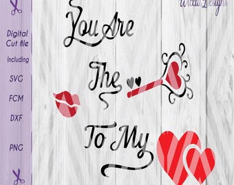Valentine quote, Key to my Heart svg, Valentine svg, Love svg, quote svg, Key svg, Heart svg, Pillow svg, Fcm, dxf , cricut svg, scanncut