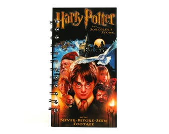 Harry Potter and the Sorcerer's Stone Notebook |  Recycled VHS