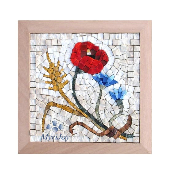Diy Mosaic Craft Kit For Adults Summer Mosaic Art