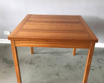 Danish Modern Extension Dining Table